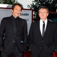Jean-Hugues Anglade and Patrice Chereau at the premiere of