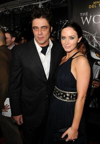 Benicio Del Toro and Emily Blunt at the California premiere of