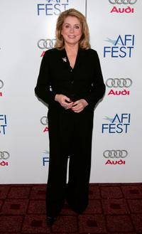 Catherine Deneuve at the AFI FEST 2007.