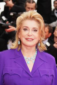 Catherine Deneuve at the premiere of