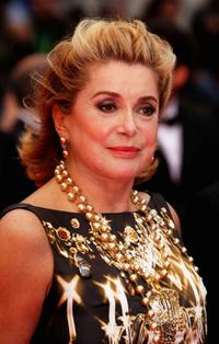 Catherine Deneuve at the Palme d'Or Closing Ceremony during the 61st International Cannes Film Festival.