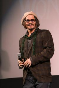 Johnny Depp at the Alice In Wonderland Ultimate Fan Event.