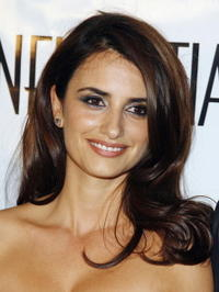 Penelope Cruz at LA Confidential Magazine's Pre-Golden Globe party in Los Angeles.