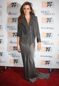 Penelope Cruz at the New York premiere of