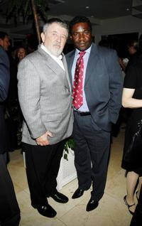 Walter Hill and Cleavant Derricks at the celebration for Robert Duvall and Thomas Haden Church's Golden Globe Nomination for
