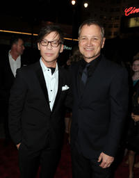 Steve Antin and president of Screen Gems Clint Culpepper at the California premiere of