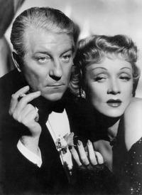 A File Photo of Jean Gabin and Marlene Dietrich, Dated January 01, 1946.