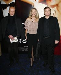 Vernon Dobtcheff, Marie-Christine Adam and Jacques Spiesser at the premiere of