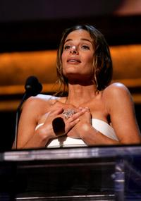 Gabrielle Anwar at the 35th AFI Life Achievement Award tribute to Al Pacino held at the Kodak Theatre.