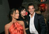 Gabrielle Anwar, Maria Doyle Kennedy and Jonathan Rhys Meyers at the after party for the premiere screening of Showtime's