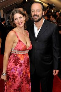 Rya Kihlstedt and Gil Bellows at the premiere of