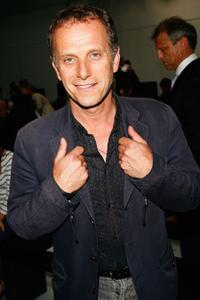 Charles Berling at the Cerruti Fashion Show.