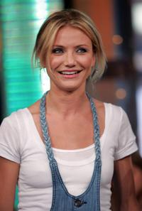 Cameron Diaz at the MTVs Total Request Live.