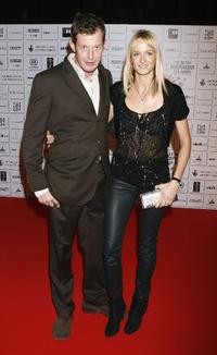 Jason Flemyng and Guest at the British Independent Film Awards.