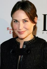Claire Forlani at the Red Party in Beverly Hills.