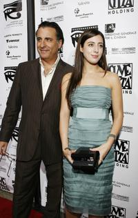 Andy Garcia and daughter Daniella at the 4th Annual Cinema Italian Style Festival.