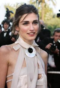 Julie Gayet at the official projection of