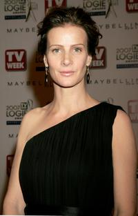 Rachel Griffiths at the 2007 TV Week Logie Awards.