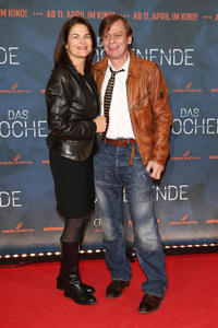 Barbara Auer and Sylvester Groth at the premiere of