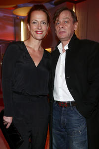 Claudia Michelsen and Sylvester Groth at the