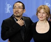 Teruyuki Kagawa and Dagmar Manzel at the photocall of
