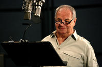 Paul Dooley on the set of