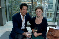 Byron Mann and Guest at the FINCA Canada Fundraiser during the 2012 Toronto International Film Festival.