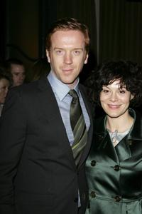 Damian Lewis and Helen McCrory at the after party of the UK premiere of