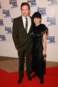 Damian Lewis and Helen McCrory at the South Bank Show Awards.