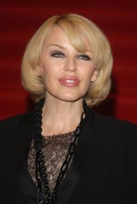 Kylie Minogue at the launch of