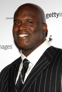 Shaquille O'Neal at the Getty Images, Johnnie Walker and Steiner Sports party during the 2008 MLB All-Star Week.