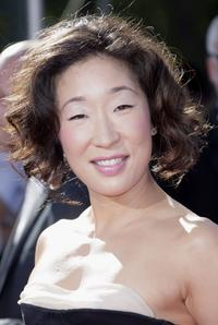 Sandra Oh at the 59th Annual Emmy Awards.