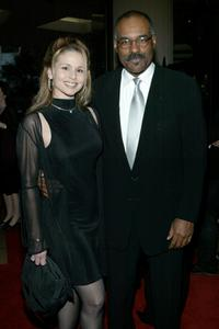 Michael Dorn and his wife Jennifer Joseph at the Fourth Annual Hollywood Makeup Artist and Hair Stylist Guild Awards.