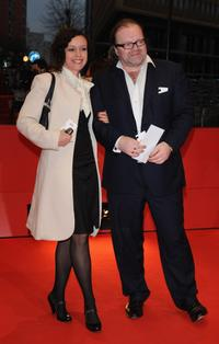 Maria Schrader and Stefan Arndt at the premiere of