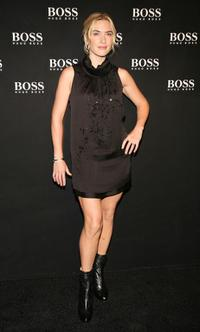 Kate Winslet at the Boss Black Spring Summer 2008 collection show.