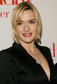 Kate Winslet at the New York premiere of