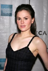 Anna Paquin at the 2007 Tribeca Film Festival for the premiere of