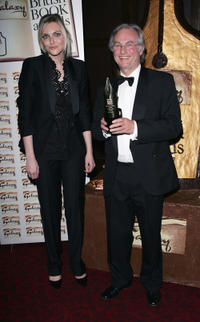 Sophie Dahl and Richard Dawkins at the Galaxy British Book Awards.