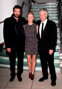 Vincent Cassel, Naomi Watts and Director David Cronenberg at the Times BFI 51st London Film Festival.