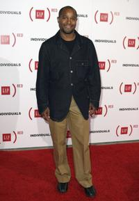 Seth Gilliam at the Gap & Vanity Fair's party to celebrate the launch of the book