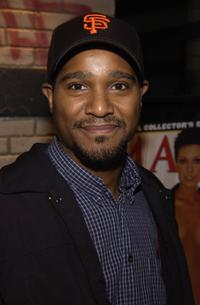 Seth Gilliam at the launch of Oakley Thump and the December issue of Maxim.