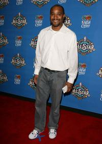 Seth Gilliam at the 57th NBA All-Star Game.