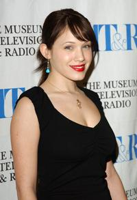 Marla Sokoloff at the screening and Q and A of