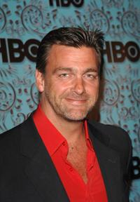 Ray Stevenson at the HBO Emmy after party.
