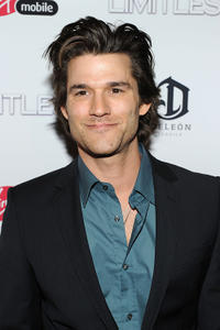 Johnny Whitworth at the world premiere of