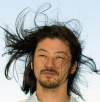 Tadanobu Asano at the 56th International Cannes Film Festival.