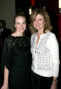 Rachel Blanchard and politician Arianna Huffington at the AFI's Directors screening of