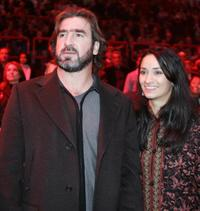 Eric Cantona and Guest at the boxing bouts 2005.