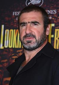 Eric Cantona at the Germany premiere of