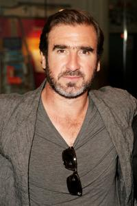 Eric Cantona at the after party of the UK premiere of